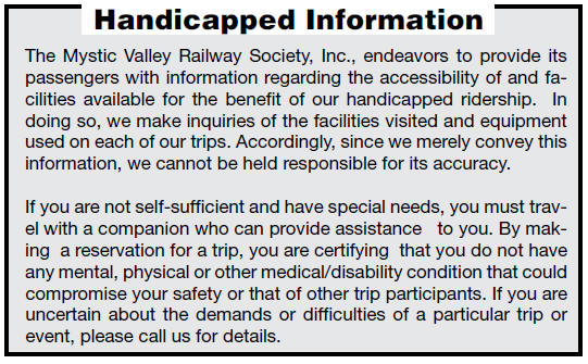 Handicapped Information